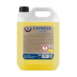 K2 EXPRESS PLUS 5l SZAMPON SAMOCHODOWY Z WOSKIEM