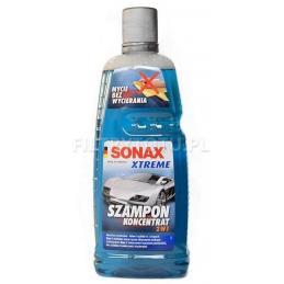 SONAX XTREME 2w1 SZAMPON SAMOCHODOWY 1L KONCENTRAT