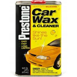 PRESTONE CAR WAX & CLEANER 473ml SILIKONOWE MLECZKO NABŁYSZCZAJĄCO-CZYSZCZĄCE