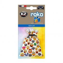 K2 ROKO HAPPY NEW CAR 25g - WORECZEK ZAPACHOWY