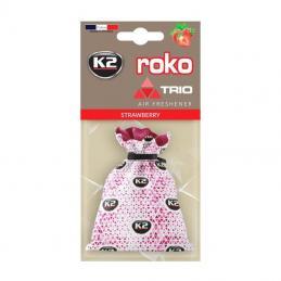 K2 ROKO TRIO TRUSKAWKA 25g - WORECZEK ZAPACHOWY