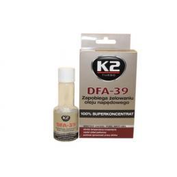 K2 DFA-39 50ml DODATEK ZAPOBIEGAJĄCY ŻELOWANIU OLEJU NAPĘDOWEGO