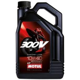 MOTUL 300V FACTORY LINE 4T 10W40 4L