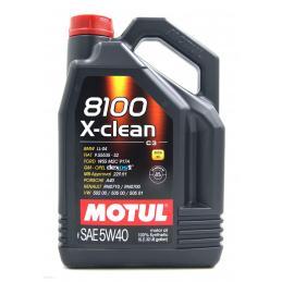 MOTUL 8100 X-CLEAN 5W40 C3 5L