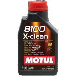 MOTUL 8100 X-CLEAN 5W40 C3 1L